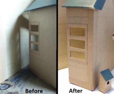 birdhouse resizing walls