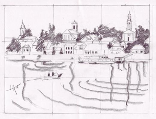 Szentendre sketch