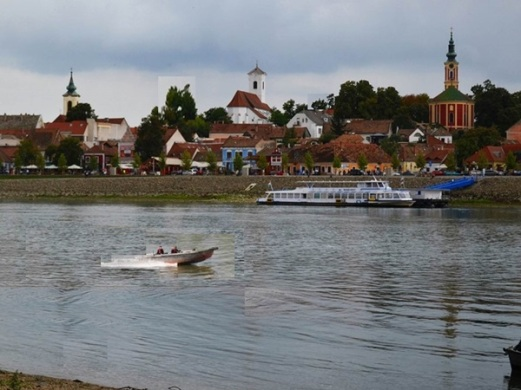 Szentendre from Danube