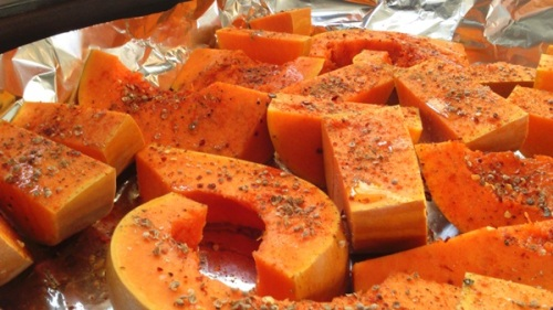 Spicey pumpkin