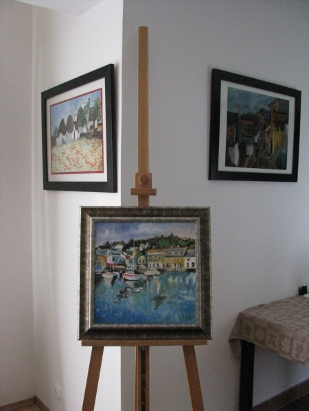 easel display art