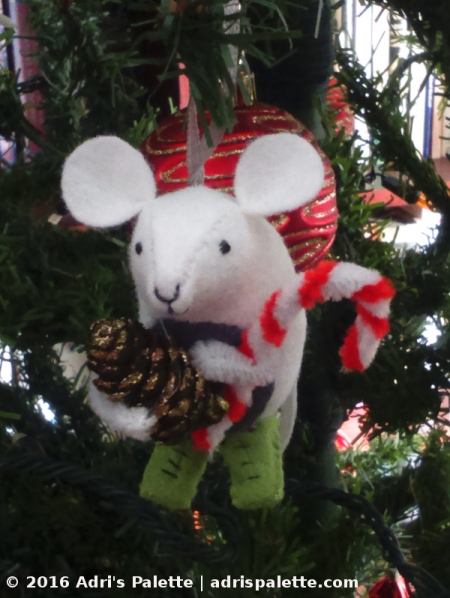 mouse ornament