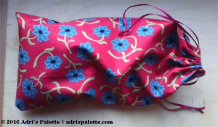 bag fro eye pillow