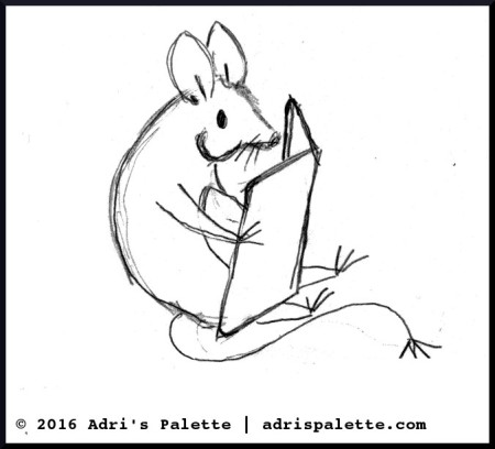 sketcch for mouse applique