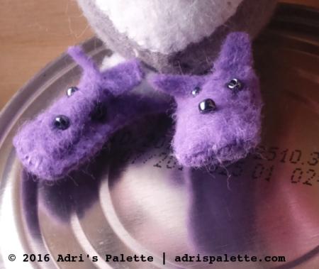 puppy fuzzy slippers