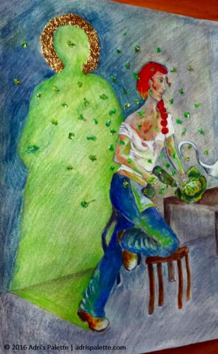 St Anne savoy cabbage deadwindo