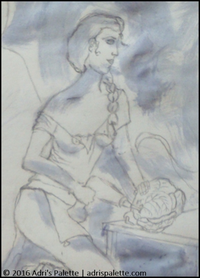 St Ann_drawing detail