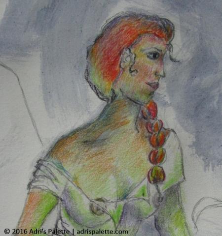 St Anne portrait