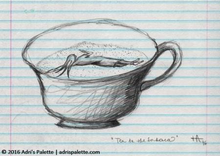 tea in the Sahara teacup