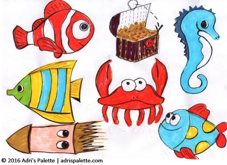 felt fish design iideas
